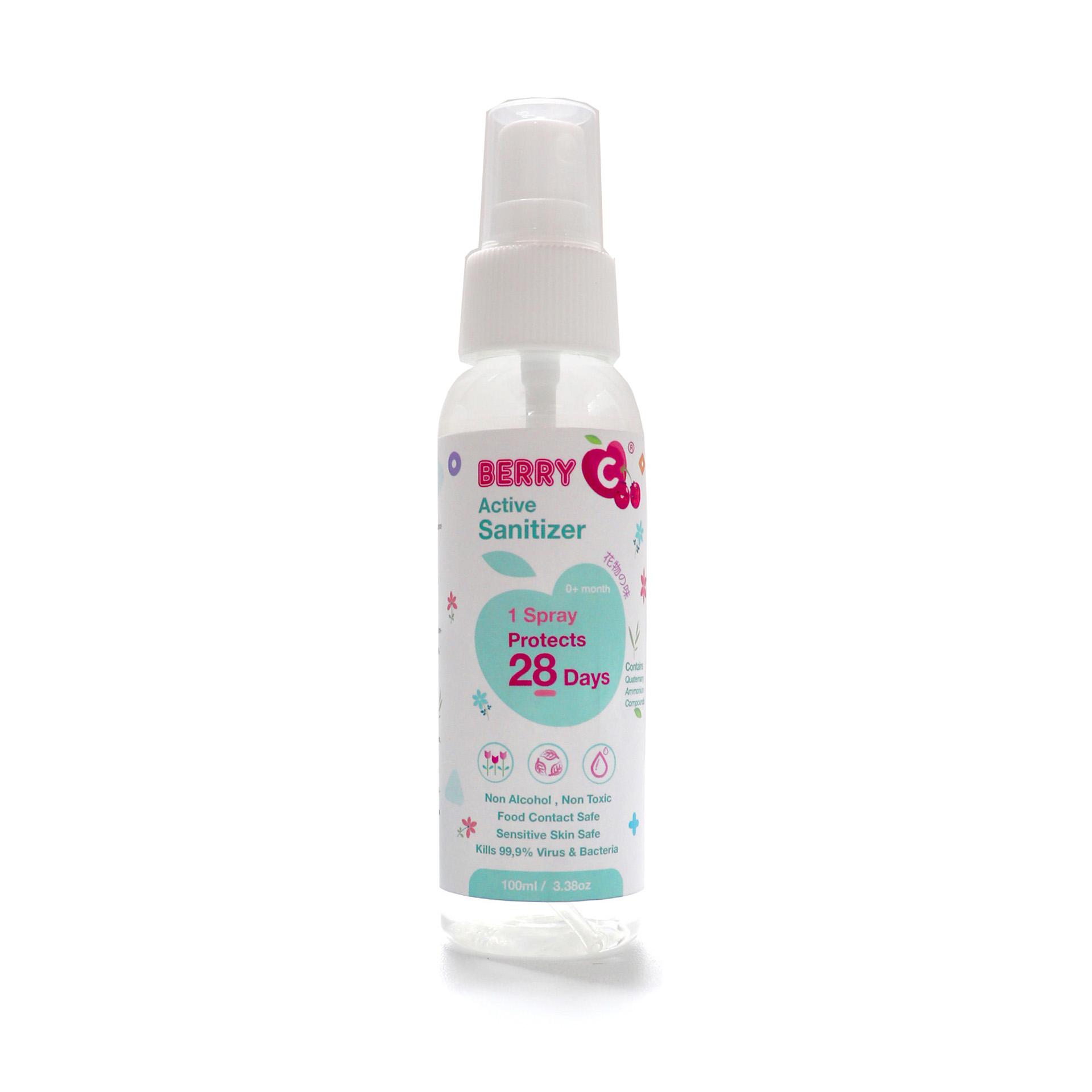 TEVO BerryC Sanitizer Disinfectant Aktif Active